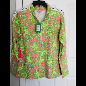 🌸NWT🌸LILLY PULITZER🌸Skipper With Lace🌸XL🌸